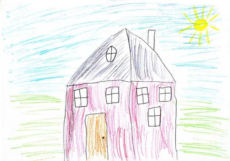 Рисунок лето карандашом 12 лет