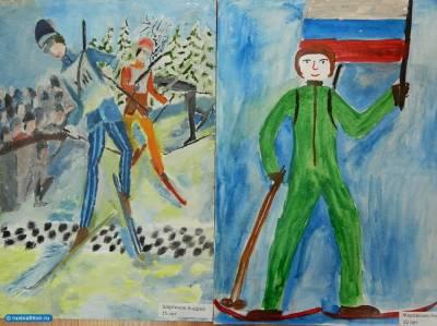 Отечественная война рисунки детей 2015